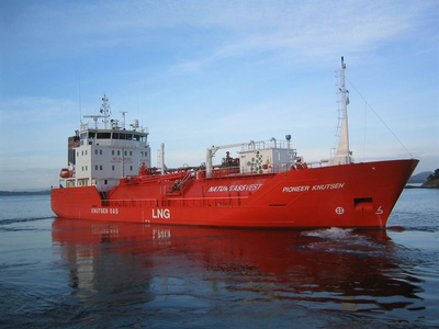 Knutsen OAS Shipping LNG vessel  (Photo: Wärtsilä)