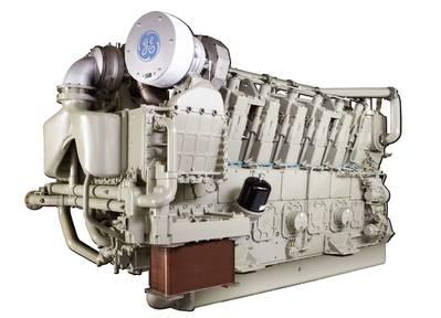 L250/V250 Marine Diesel Engine (Image: GE)