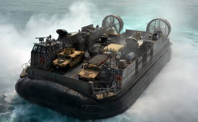 Landing Craft Air Cushion (LCAC) 8: Photo credit USN