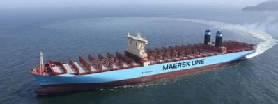 Maersk Triple E Class vessel (Photo courtesy of Trelleborg)