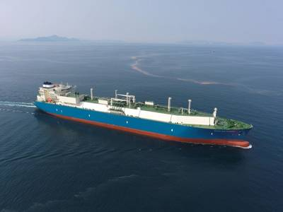 Maran Gas Carrier: Photo Maran Gas Maritime