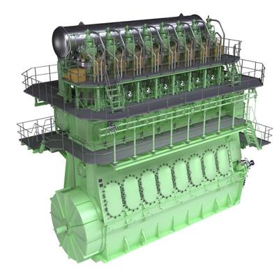 Marine Diesel Engine 8L70ME: image MAN