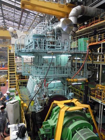Marine Diesel Engine X72: Photo Wärtsilä