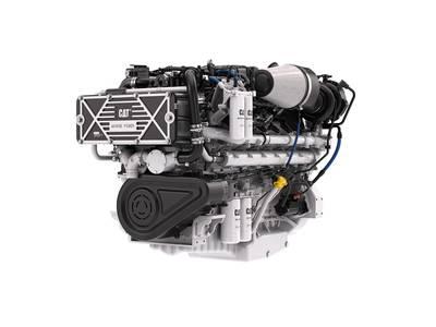 Cat C32B Marine Engine (Photo: Caterpillar Marine)