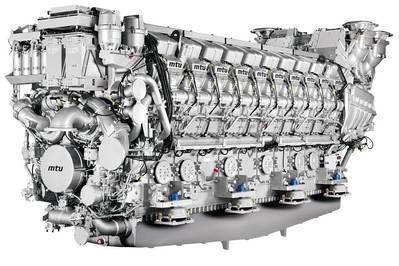 MTU_20V8000M71L Engine: Photo credit MTU