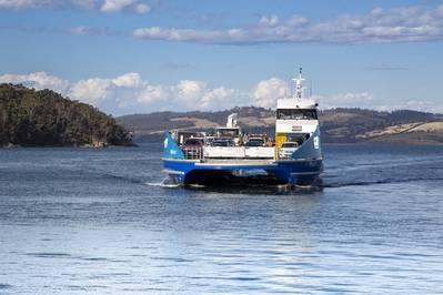 Nairana, the all-aluminium ferry (Photo: Schottel)