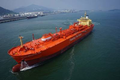 Navigator Gas, the owner and operator of the world's largest fleet of handysize liquefied gas carriers, has received a new AiP from DNV for an ammonia fuelled gas carrier. (Image courtesy Navigator Gas)
