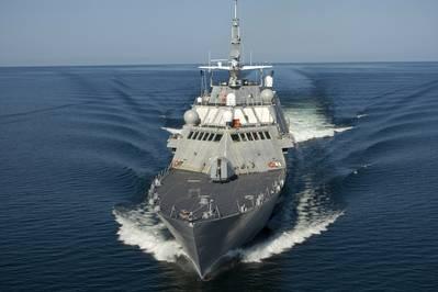The U.S. Navy's Littoral Combat Ship (Photo: Rolls-Royce).