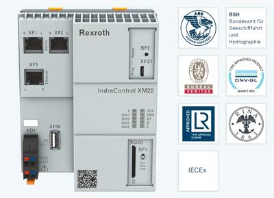 IndraControl XM for use in marine and offshore applications and in explosive atmospheres (Image: Bosch Rexroth)