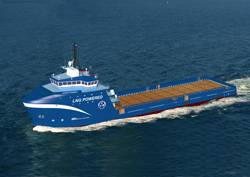Dual Fuel Offshore Supply Vessel