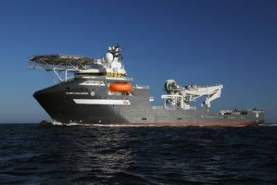 Olympic Shipping Offshore Vessel: Photo courtesy of Olympic Shipping