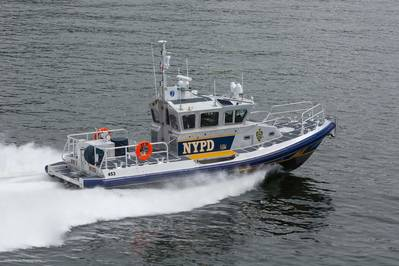 Police Boat (RB-M C): Photo credit John Fleck Photography