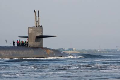 USS Rhode Island (SSBN 740). (U.S. Navy photo by Rex Nelson)