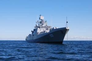 'INS Tarkash': Photo credit Yantar Shipyard