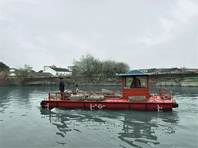 Torqeedo Suzhou River Cleaning (Photo: Torqeedo)