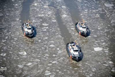 Tugboats Wire & Hawser: Photo credit USCG