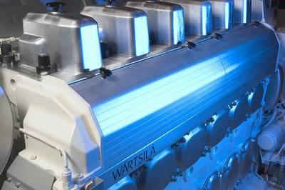 The upgraded Wärtsilä 20 engine gaines added power from increased cylinder output of 220kW. (Photo: Wärtsilä)