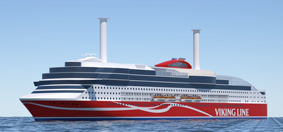 New Viking Line cruise ferry  (Photo courtesy of ABB)