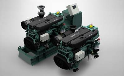 Volvo Penta D16 Engine  (Photo: Volvo)