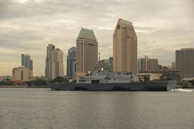 USS Fort Worth (LCS 3). U.S. Navy photo by Senior Chief Mass Communication Specialist Donnie W. Ryan