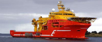 A Wärtsilä hybrid upgrade will enable Eidesvik's 'Viking Neptun' to become more environmentally sustainable and fuel efficient. Copyright: Eidesvik.