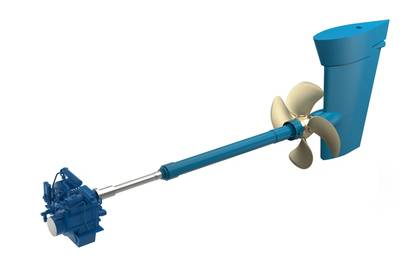 The new Wärtsilä CP propeller system offers greater efficiency and a reduced environmental impact.