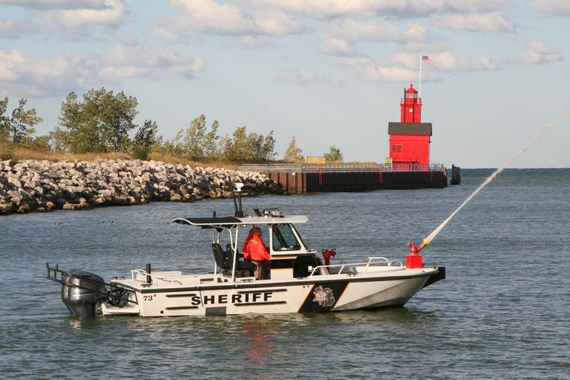 Brunswick Deliver Law Enforcement Boston Whaler