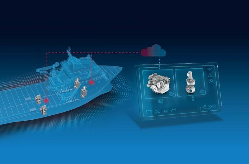 Marine Monitoring System : Zf condition monitoring optimizes operations