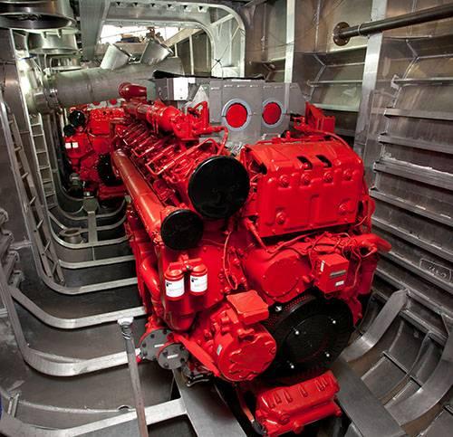 Cummins Delivers First Qsk95 Engines