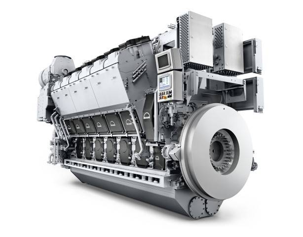 MAN 32/44CR engine (Image: MAN Energy Solutions)
