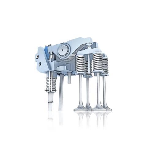 VCM actuator and engine valves (Photo: ABB)