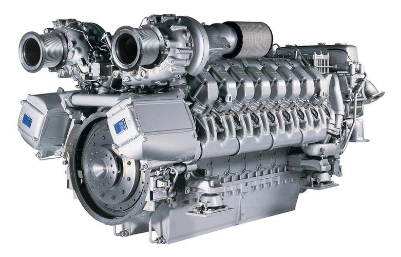 GRSE will assemble 12V and 16V 4000 M90 type engines in the Diesel Engine Plant in Ranchi. The engines have a rated power of 2,040 and 2,720 kW, respectively, and will be installed in various naval vessels built by GRSE. (Photo: Rolls-Royce)