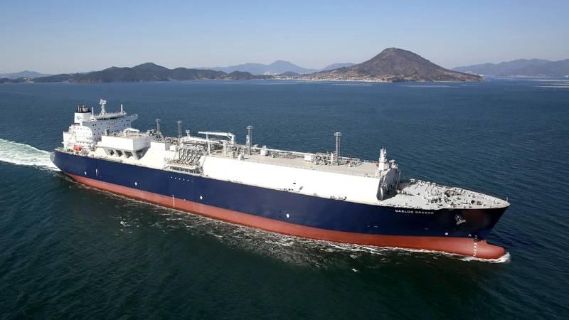 LNG carrier GasLog Greece (Photo: Wärtsilä)