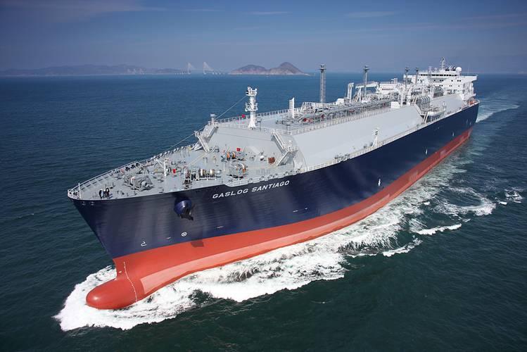 LNG carrier GasLog Santiago (Photo: Wärtsilä)