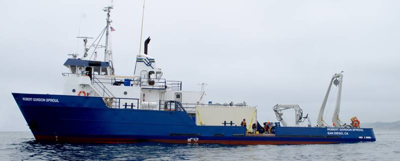 Scripps Institution of Oceanography research vessel Robert Gordon Sproul (Photo: Scripps Oceanography at UC San Diego)