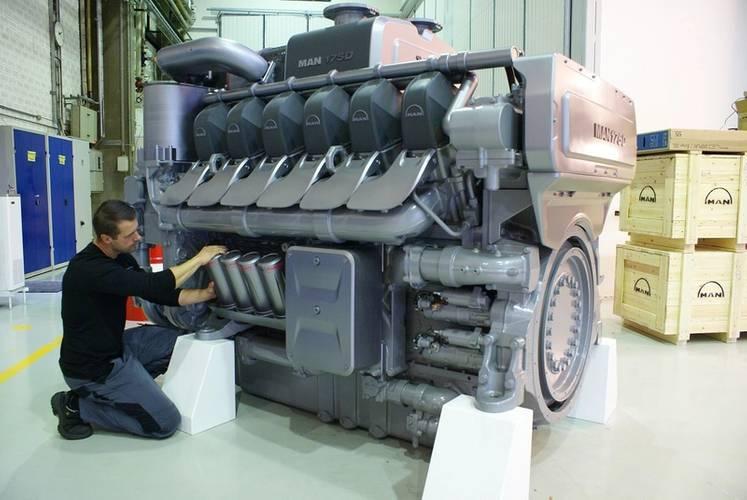 MAN Diesel & Turbo's new MAN 175D (Photo courtesy of MAN Diesel & Turbo)