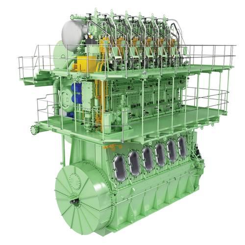 The MAN B&W engine type ME-GI. ©MAN ES