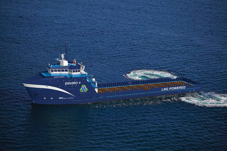 Harvey Gulf has contracted for a series of six dual-fuel offshore supply vessels (OSVs)  intended to operate primarily on LNG.  Its competitors in the Gulf of Mexico are taking note.