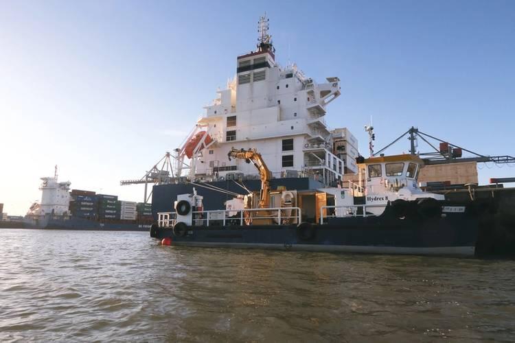 Hydrex has workboats ready for immediate mobilization. (Photo: Hydrex)