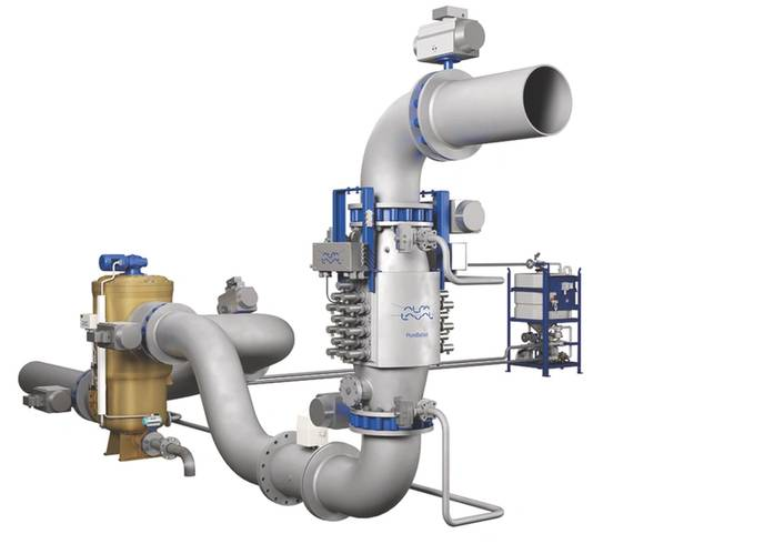 The Alfa Laval PureBallast system is designed to comply with the requirements of the IMO Ballast Water Management System Convention which comes into effect in September this year. (Photo: Alfa Laval)