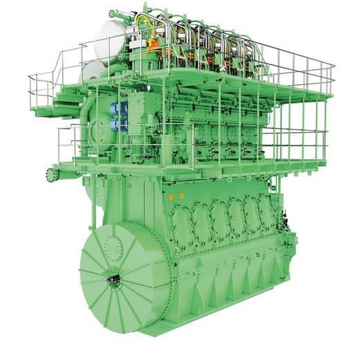 The new MAN ES B&W ME-LGIP engine. Images: ©MAN ES