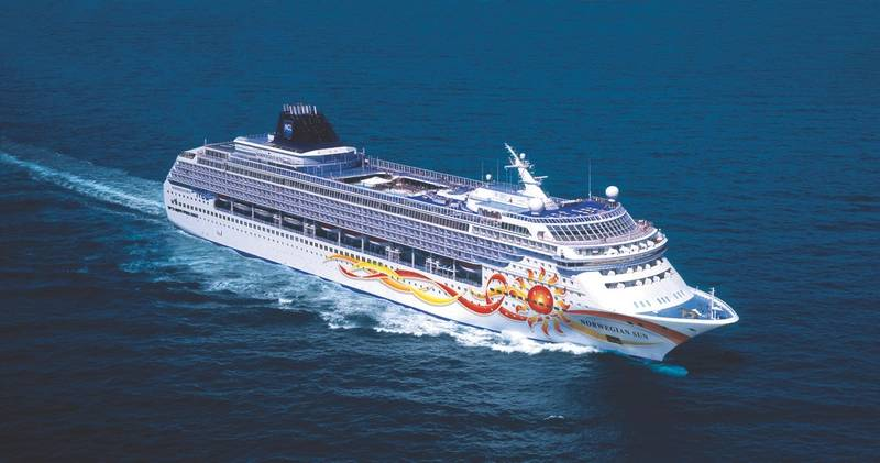 Norwegian Sun (Photo: Norwegian Cruise Line)
