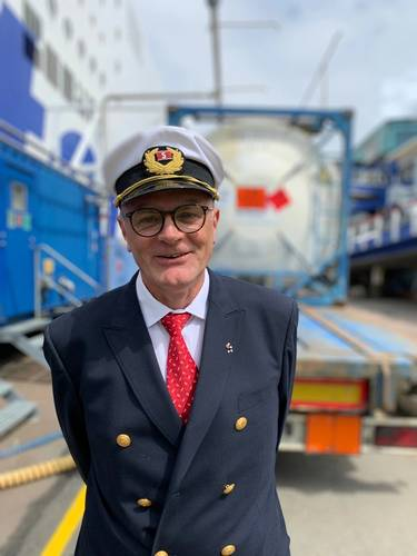 Peter Holm, Chief Engineer Stena Germanica. Photographer: Stena Line