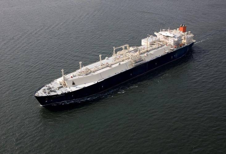 File photo of LNG carrier Courtesy Kobe