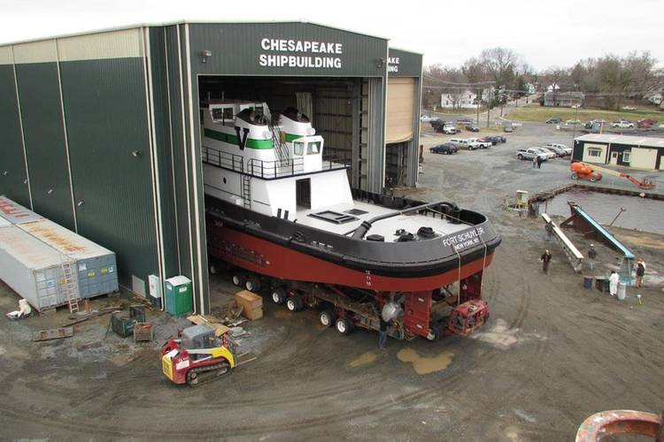 Photo courtesy of Chesapeake Shipbuilding
