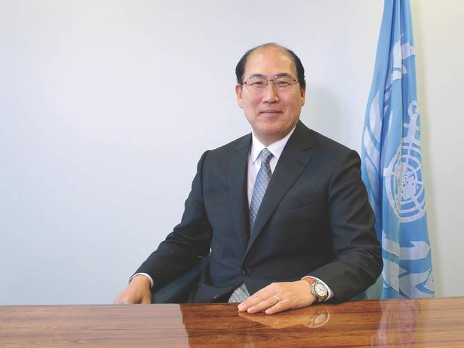 """""""The reductions in sulfur oxide emissions resulting from the lower global sulfur cap are expected to have a significant beneficial impact on the environment and on human health."""" -Kitack Lim, Secretary-General, International Maritime Organization (IMO) (Photo: IMO)"""