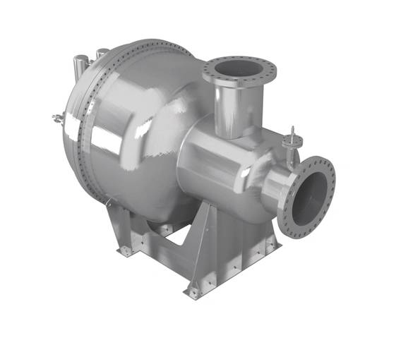 Rendering of the SCR-HP reactor (Image: MAN Diesel & Turbo)
