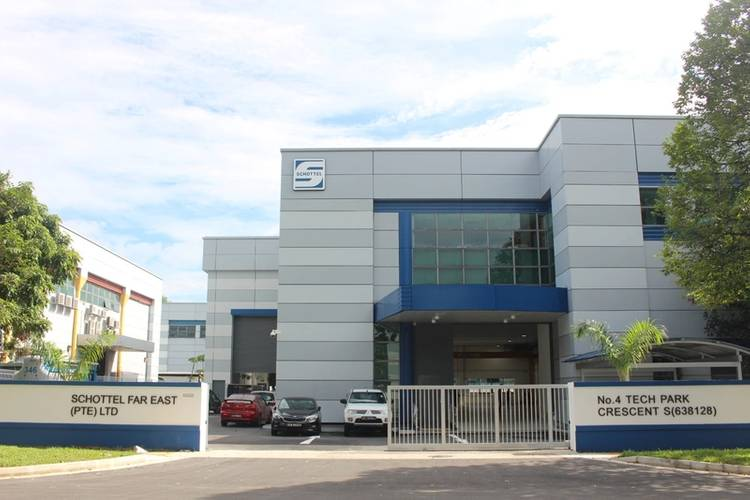 SCHOTTEL New Singapore Premises Courtesy SCHOTTEL