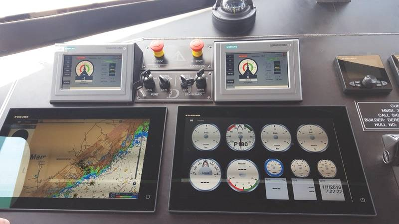 CUNY 1 Siemens and Furuno navigation suite