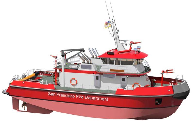 "The ""super pumper"" fireboat is to enhance San Francisco's marine fire fighting and response capabilities on water including high-volume water pumping, firefighting, rescue, emergency medical service and patrol in the waters of San Francisco and San Pablo Bays and the Pacific Ocean within five miles of shore and the adjoining inland waterways."